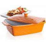 Banquet Zapékací forma obdélníková s víkem 33x21cm Culinaria Orange
