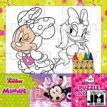 Minnie Omalovánka puzzle