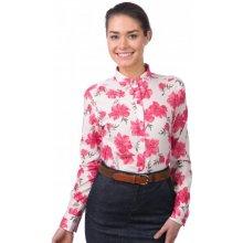 Gant dámská květovaná košile červená