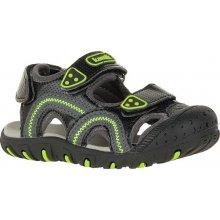 Kamik chlapecké sandály Seaturtle - černo-zelené