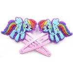 Sponky do vlasů My little Pony Rainbow Dash 1 pár