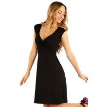 Litex šaty dámské bez rukávu 54051 černá 35dcec0e8d