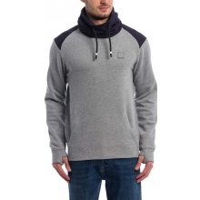 BENCH - Her. Colorblock Funnel Winter (MA1054) Grey Marl
