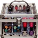 TECHNIC BEAUTY TRANSPARENT CASE Kosmetický kufřík průhledný vybavený 26216