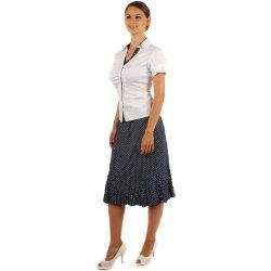 70b01dc8c22d TopMode retro puntíkovaná midi sukně i pro plnoštíhlé modrá od 199 ...