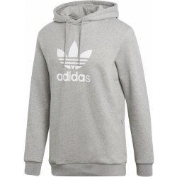 a66574ff630 Pánská mikina Adidas Originals TREFOIL HOODIE Šedá