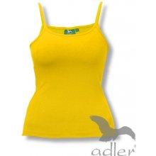 Adler dámský Spaghetti top žlutá