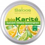 Saloos BIO karité balzám Limeta Lemongrass 50 ml
