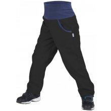 Unuo Dětské softshellové kalhoty Basic s fleecem černé 3c460f5f4d