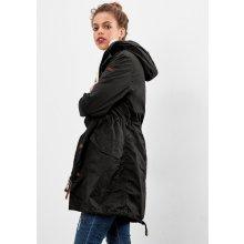 s.Oliver dámská bunda kapucí černá