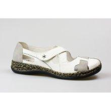 063980704eb4 RIEKER dámský sandál 46367-80 bílá