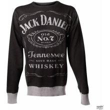 Jack Daniels Knitted Sweater Pánský svetr Black BIOWORLD KW001014JDS