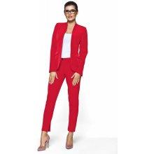 Kartes dámský kalhotový kostým červený