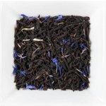 UNIQUE TEA Čaj Modrý stín Jahoda a Rebarbora Černý čaj aromatizovaný 100 g