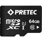 Pretec microSDXC 64GB UHS-I PC10MXC64G