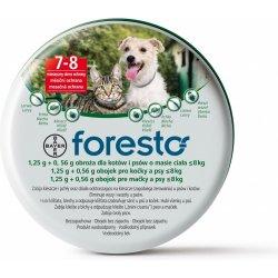 Bayer Foresto obojek pro malé psy do 8kg 38cm