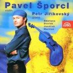 Šporcl Pavel: Smetana, Dvořák, Janáček, Martinů, Ševčík / P.Jiříkovský - klavír CD