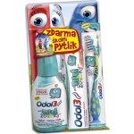 Odol3 Moje velké zoubky 6+ let ústní voda 300 ml + zubní pasta 50 ml + zubní kartáček měkký + školní pytlík dárková sada
