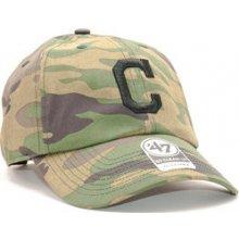 47 Brand Cleveland Indians Clean Up Unwashed Camo Strapback camo   černá    zelená 1f2582c2cf