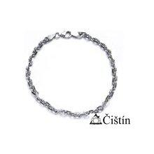 ČIŠTÍN s.r.o. 267076355 stříbrný silný náramek řetěz 6
