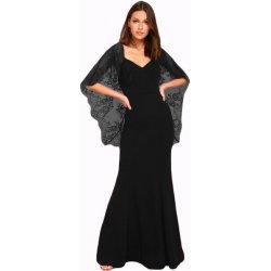 Plesové šaty Společenské šaty dlouhé s krajkovými rukávy 608eb102df8