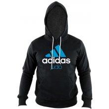Adidas ComLine Judo mikina černo-modrá