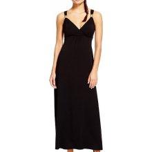 Dlouhé černé plesové společenské šaty