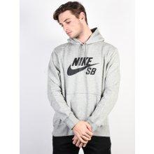 bf0f24bdb8 Nike Sb Mikina Icon Po Essnl Grey Htr Black
