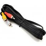 Fat Shark 3m kabel RCA 4P Jack 3,5mm