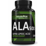 Warrior Ala 500 kyselina alfa-lipoová 100 tablet