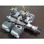 Motor DLA 232ccm včetně tlumiče a příslušenství