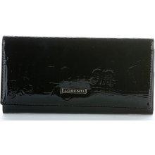 Lorenti Dámská kožená peněženka Lak černý