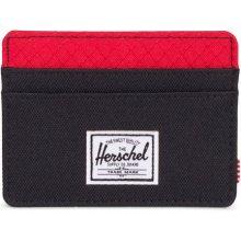 Herschel Supply Charlie RFID Black/Scarlet
