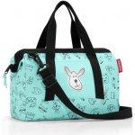 Reisenthel sportovní taška Allrounder Cats and Dogs mint