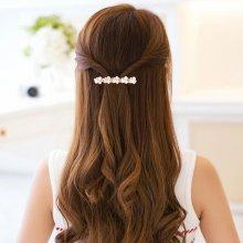 9f3df591d06 Luxusní vlasová spona s perlami a kamínky - bílá zlatá Top5