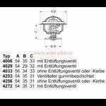 WAHLER Termostat WH 4256 87D50