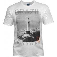 Bad Boy Brazil T Shirt Mens White
