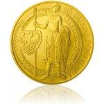 Česká mincovna Zlatá investiční mince 40dukát Bořivoje stand 139,5 g