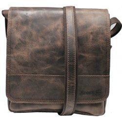 fccda1efeb Scorteus pánská kožená taška přes rameno 1434-10 1