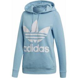 9f53f4ec75c Adidas Originals Trefoil Hoodie světle modrá dámská mikina ...