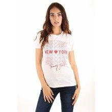 Tommy Hilfiger dámské tričko New York bílé 6a1cbcdbed