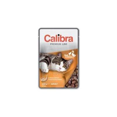 Calibra Cat Premium Adult Duck & Chicken 5 x 100 g