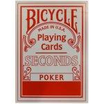 USPCC Bicycle Seconds Barva: Červená