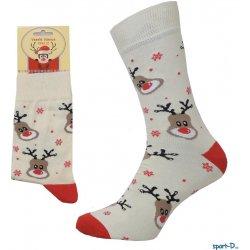 Pondy VAN500 pánské vánoční ponožky sob světlé alternativy - Heureka.cz 32a06eed55