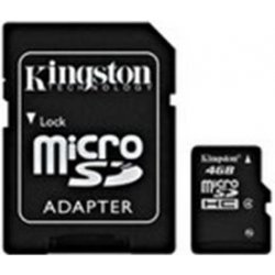 Kingston microSDHC 8GB Class 4 + adaptér SDC4/8GB