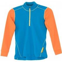 SENSOR Thermo juniorské triko + spodky modrá oranžová 2014