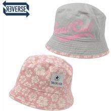 SoulCal Bloom Ladies Bucket Hat Pink/Grey