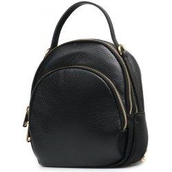 Nina kožená kabelka batoh černá alternativy - Heureka.cz 3fb87cdec4e
