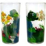 Banquet Dětská sklenice na nealko MOŘSKÝ SVĚT 2ks 220 ml