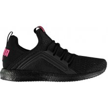 Puma Mega NRGY Ladies Trainers Black Pink d8647adbf3